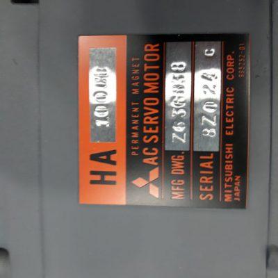 Mitsubishi AC Servomotor HA100CB