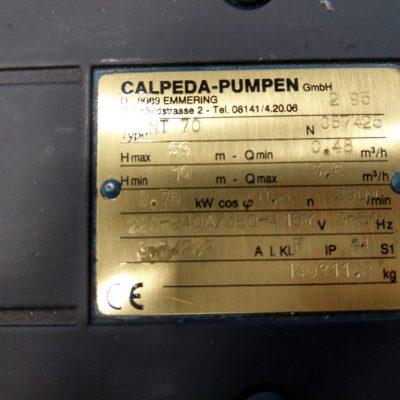 Calpeda Hydraulikpumpe NT70