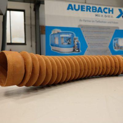 Faltenbalg Längsspindel für AUERBACH FUW 200 und FUW 250